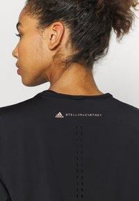 adidas by Stella McCartney - TEE - Camiseta estampada - black - 4