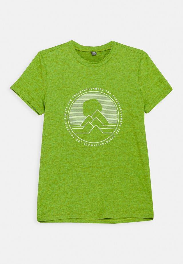 T-shirt med print - peridot