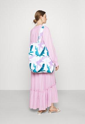 PRINT BAG UNISEX - Tote bag - multicoloured/blue/purple
