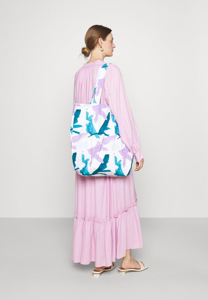 STUDIO ID - PRINT BAG UNISEX - Tote bag - multicoloured/blue/purple