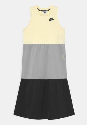 DRESS - Day dress - cashmere/light smoke grey/black