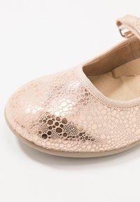 Friboo - Ballerina's met enkelbandjes - rose gold - 2
