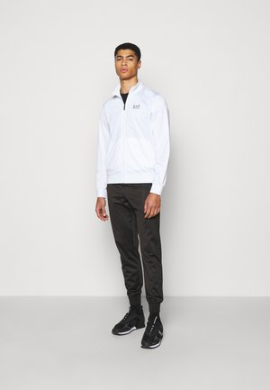 SET - Tracksuit - white/black