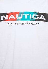 NAUTICA COMPETITION - POLACCA - Print T-shirt - white - 2