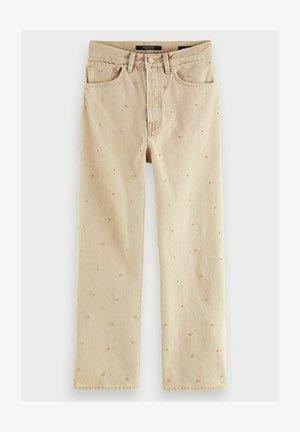 BOYFRIEND  - Flared Jeans - mushroom