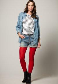 FALKE - PURE MATT 50 - Leggings - Stockings - lipstick - 1