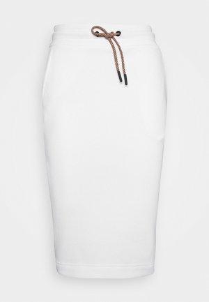 BOUNCE LOGO SKIRT - Sportovní sukně - white