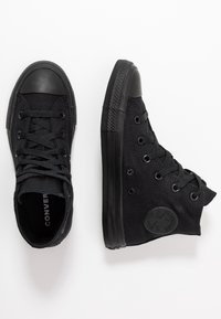 Converse - CHUCK TAYLOR ALL STAR  - High-top trainers - black monochrome - 0