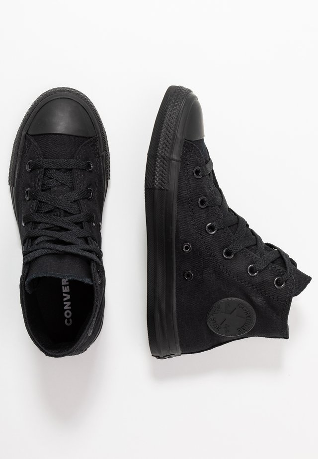 CHUCK TAYLOR ALL STAR  - High-top trainers - black monochrome