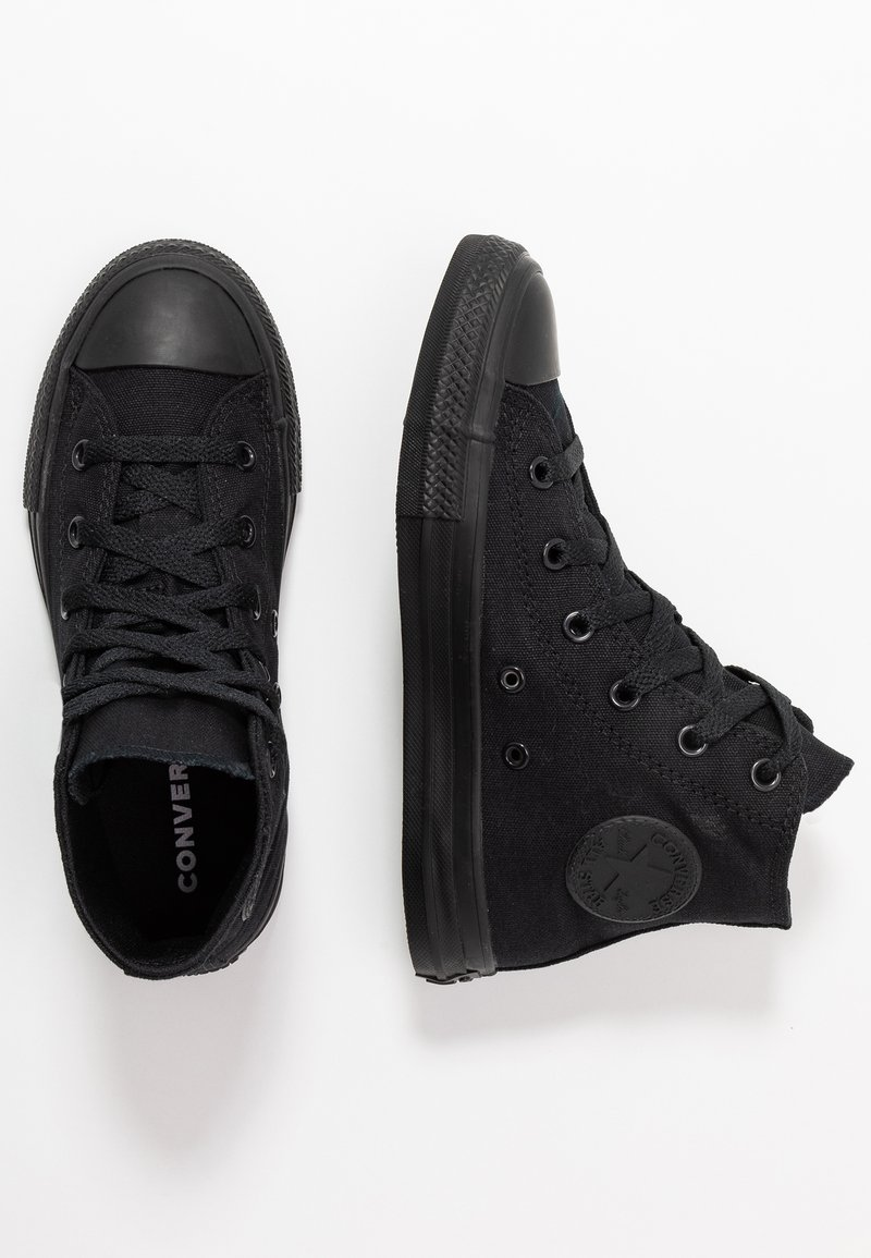 Converse - CHUCK TAYLOR ALL STAR  - High-top trainers - black monochrome