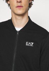 EA7 Emporio Armani - Zip-up sweatshirt - black - 6