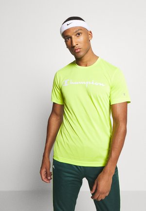 LEGACY TRAINING CREWNECK - T-Shirt print - neon green
