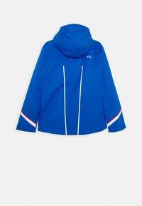 Kjus - BOYS FORMULA JACKET - Lyžařská bunda - aruba blue - 1