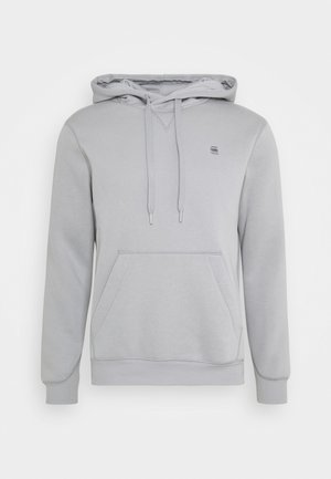 PREMIUM CORE hooded long sleeve - Sweat à capuche - steel grey