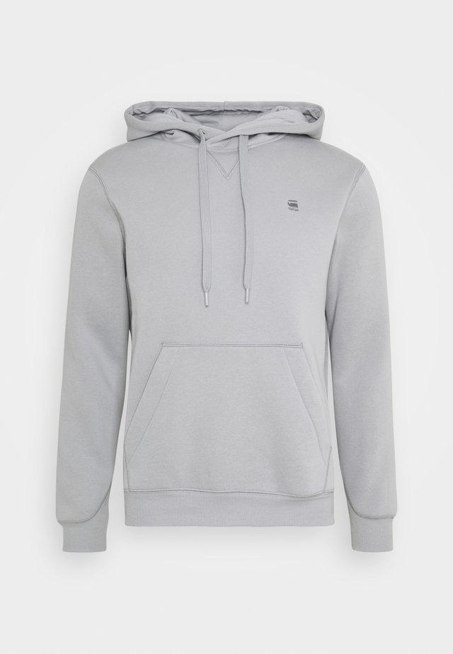 PREMIUM CORE hooded long sleeve - Hoodie - steel grey