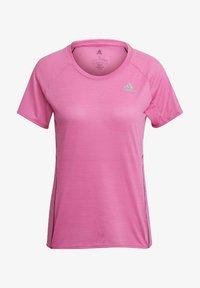adidas Performance - RUNNER - T-shirt print - pink - 6