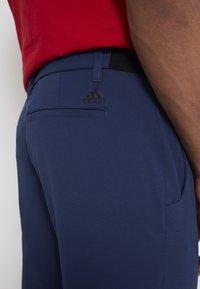 adidas Golf - PIN ROLL PANT - Kalhoty - crew navy - 6