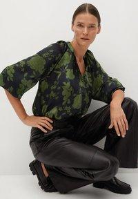Mango - BICO - Button-down blouse - kaki - 4