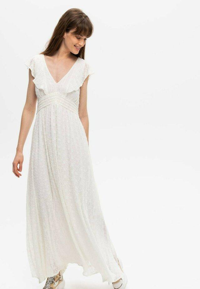 Robe longue - off-white