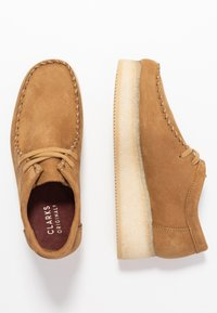 Clarks Originals - WALLACRAFT  - Nauhakengät - oak - 3