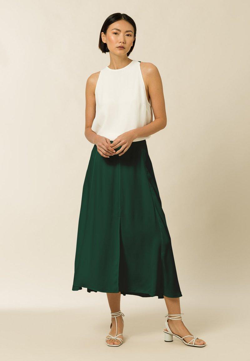 IVY & OAK - STELLA - A-line skirt - bayberry green