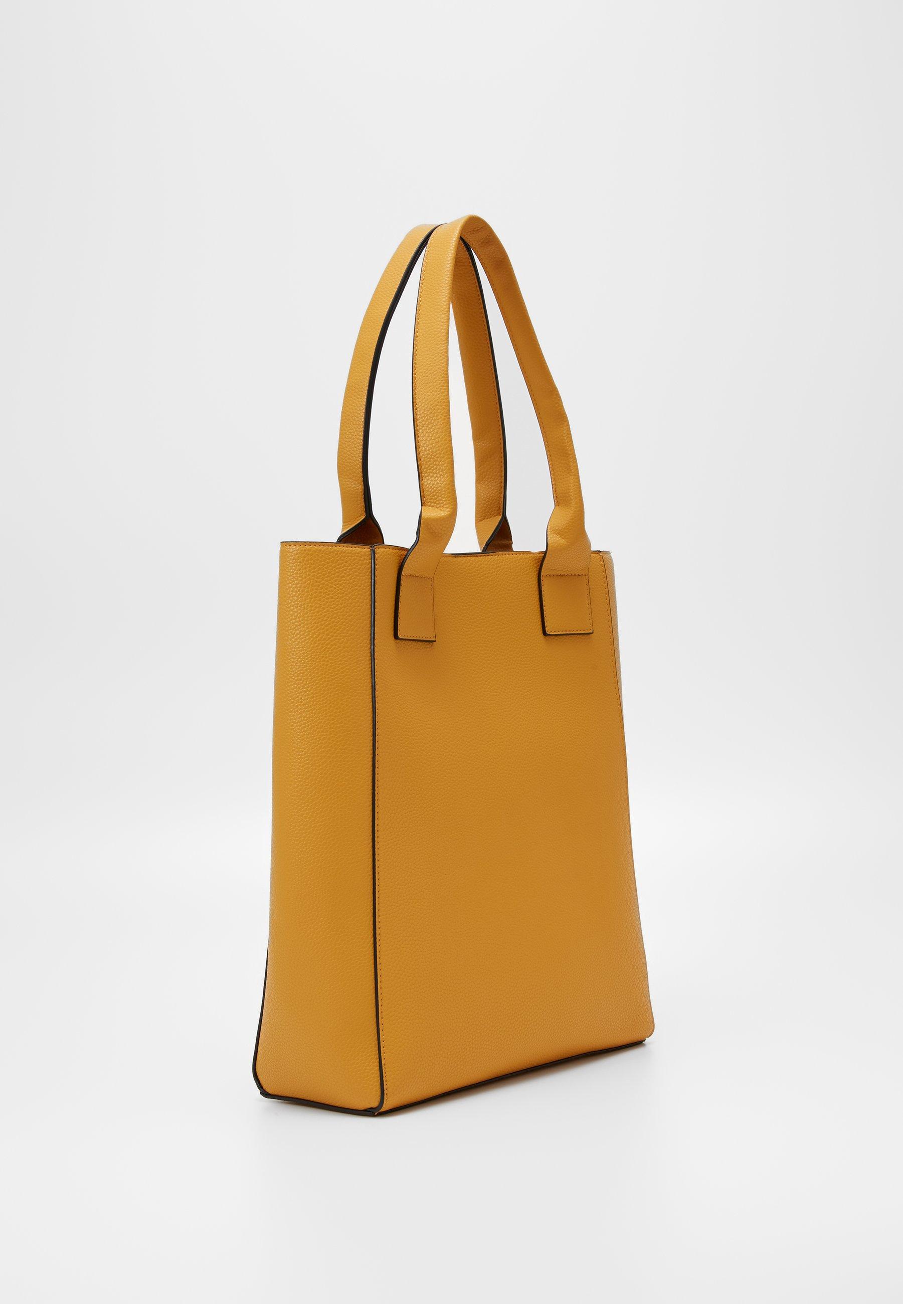 Even&odd Shopping Bag - Dark Yellow/dunkelgelb