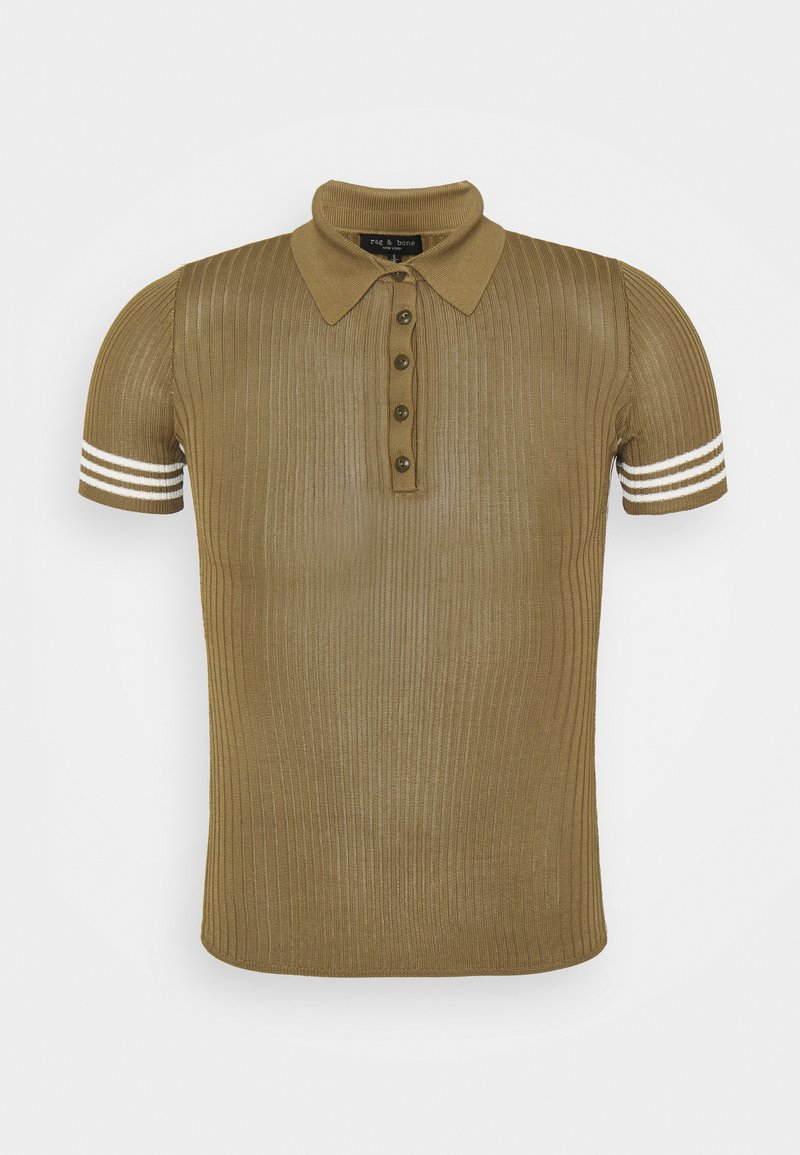 rag & bone - PEYTON BLACK LABEL - Polo shirt - deepolive