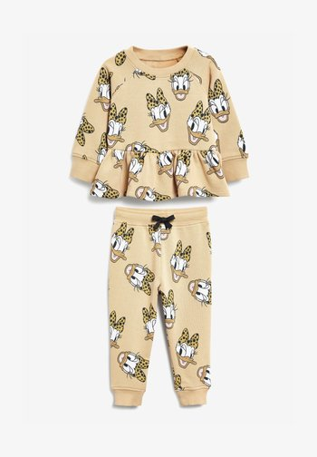 DISNEY DAISY DUCK SWEAT TOP AND JOGGERS SET