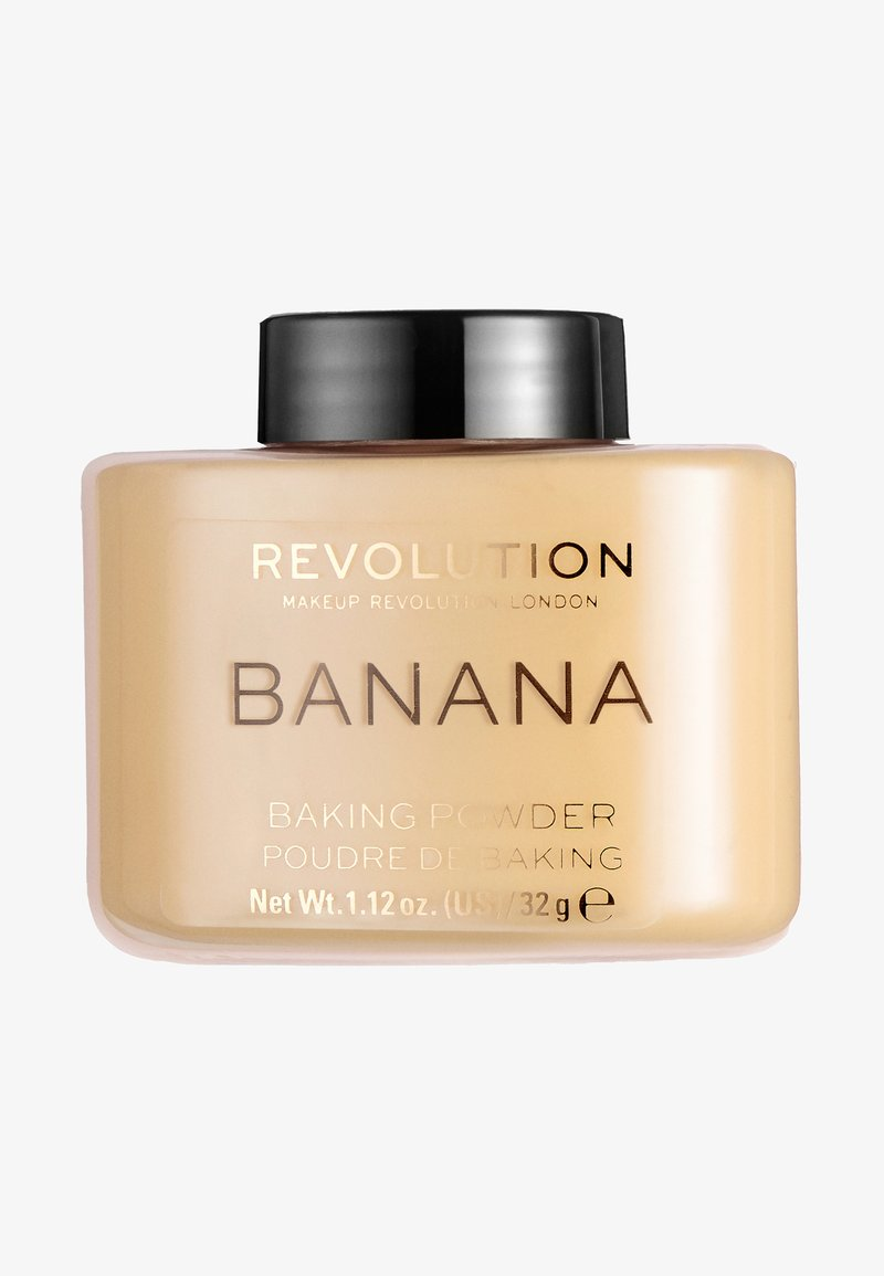 Make up Revolution - LOOSE BAKING POWDER - Spray fixant & poudre - banana