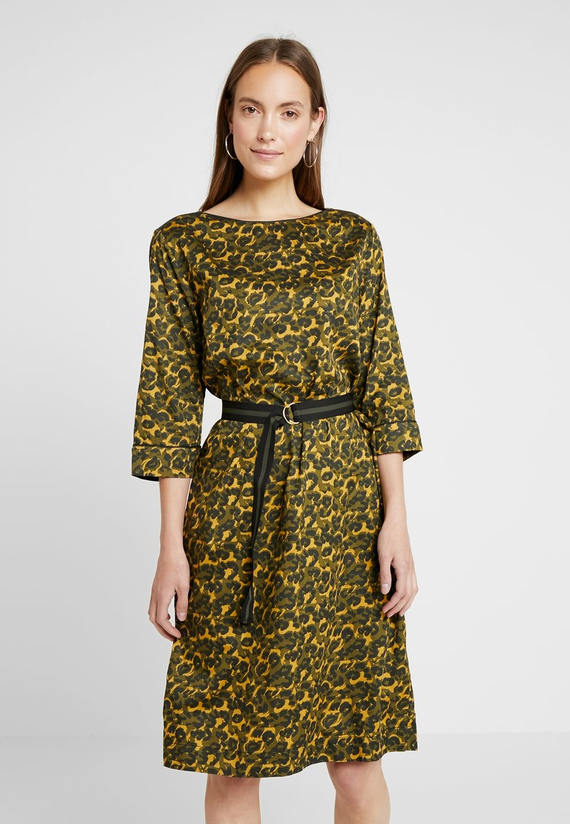 Freequent - Day dress - olive night