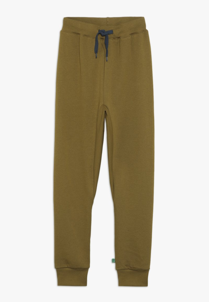 Fred's World by GREEN COTTON - PANTS - Träningsbyxor - dark olive