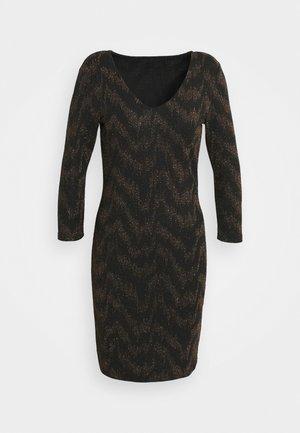 ONYFANCY DRESS  - Etuikjoler - black/gold