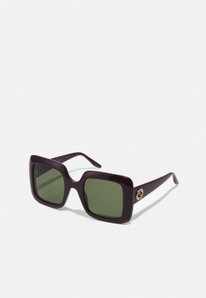 Sunglasses - red/green