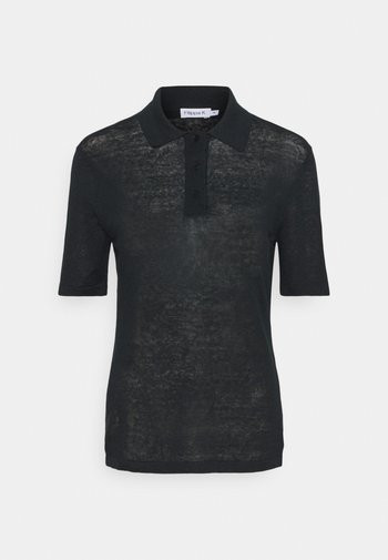 ANGELINE - Polo shirt - black