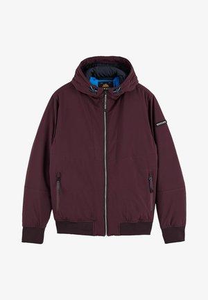 Light jacket - bordeaubergine