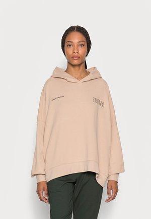 HOODIE OVERSIZED - Sweatshirt - beige