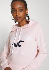 Hollister Co. - TERRY TECH CORE - Hoodie - pink - 3