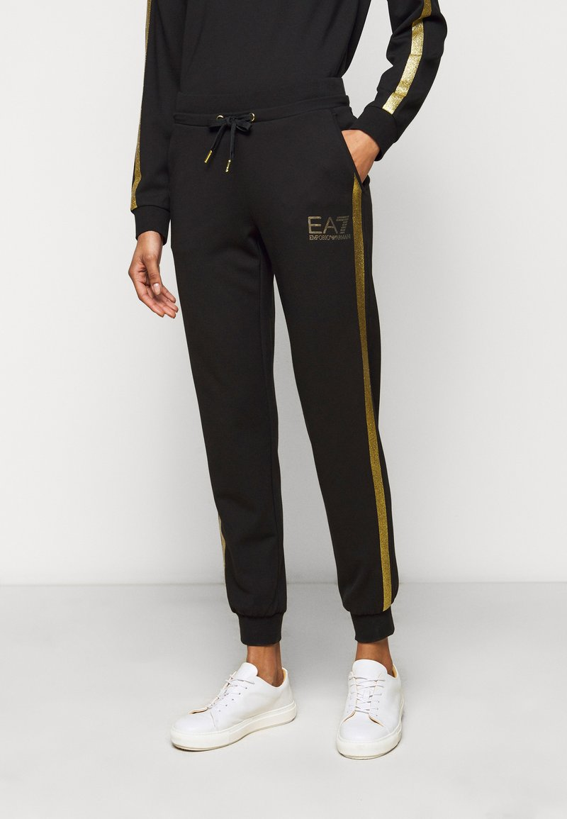 EA7 Emporio Armani - Teplákové kalhoty - black