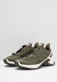 Salomon - SUPERCROSS BLAST - Trail running shoes - olive night/vanilla/ebony - 2