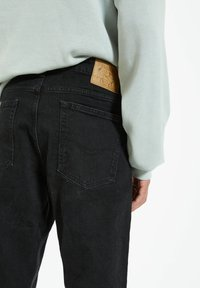 PULL&BEAR - Straight leg jeans - black - 4