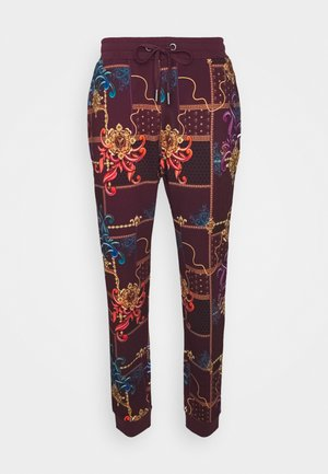 UNISEX - Teplákové kalhoty - bordeaux