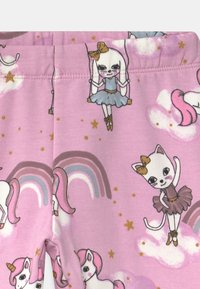 Lindex - MINI SWEET - Leggings - Trousers - dusty pink - 2