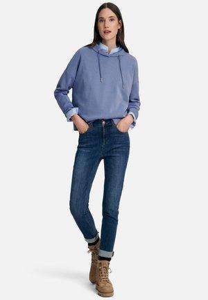 Hoodie - jeansblau