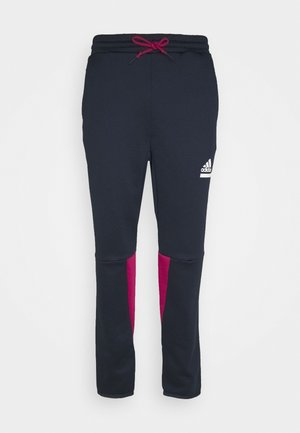 SPORTSWEAR AEROREADY PANTS - Spodnie treningowe - legend ink/power berry