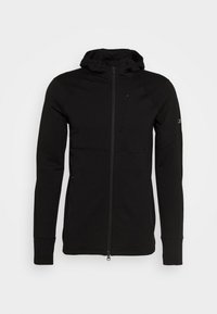 Icebreaker - MENS QUANTUM ZIP HOOD - Zip-up hoodie - black - 4