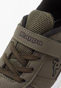 Kappa - DALTON ICE - Sports shoes - army/black - 2