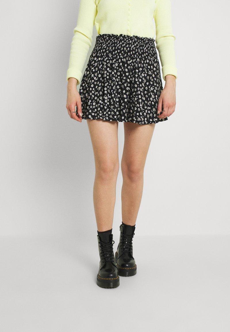 EDITED - SAGE SKIRT - Mini skirt - dark daisy