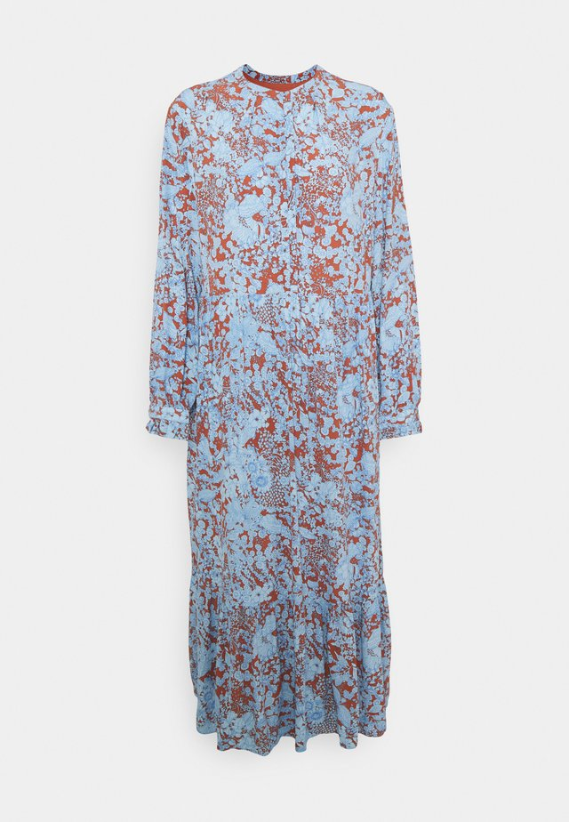 FLORAL ENGLISH - Maxikjoler - print blue
