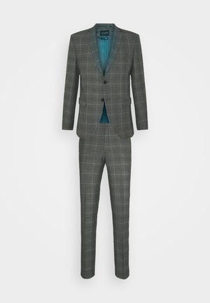 SLHSLIM MYLOLOGAN SUIT - Garnitur - grey/brown