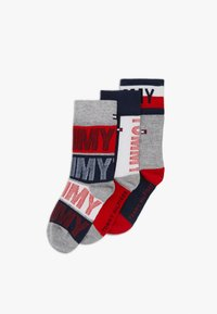 Tommy Hilfiger - KIDS SOCK GIFTBOX 3 PACK UNISEX - Socks - dark blue - 0